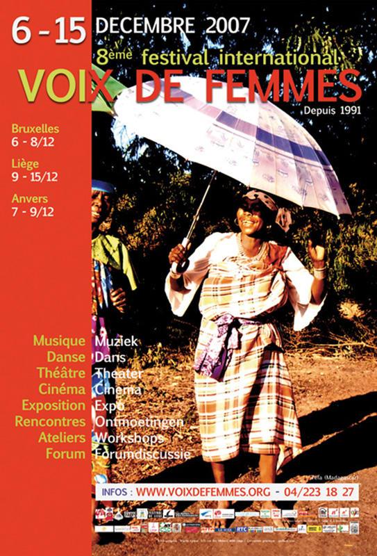 Affiche du 8e Festival Voix De Femmes