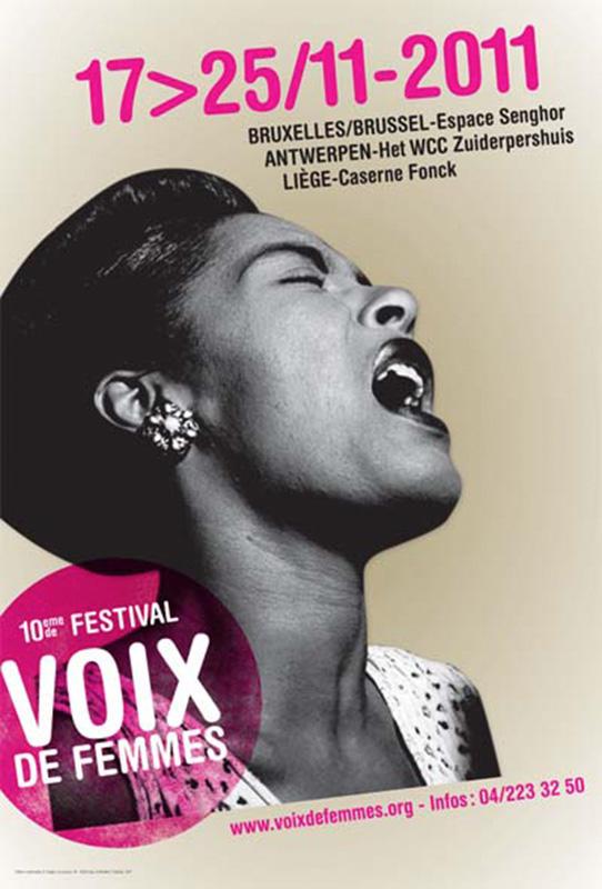 Affiche du 10e Festival Voix De Femmes