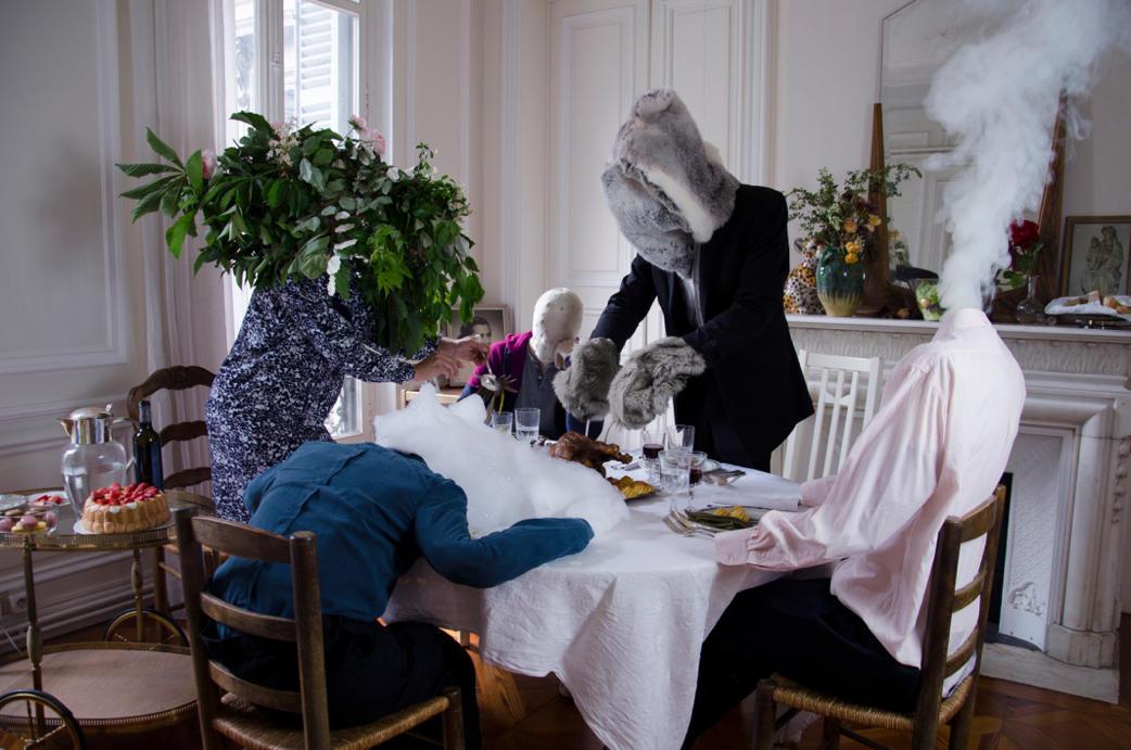 Le déni est servi. Photographie d'Amélie Laval, parue dans le numéro 1.