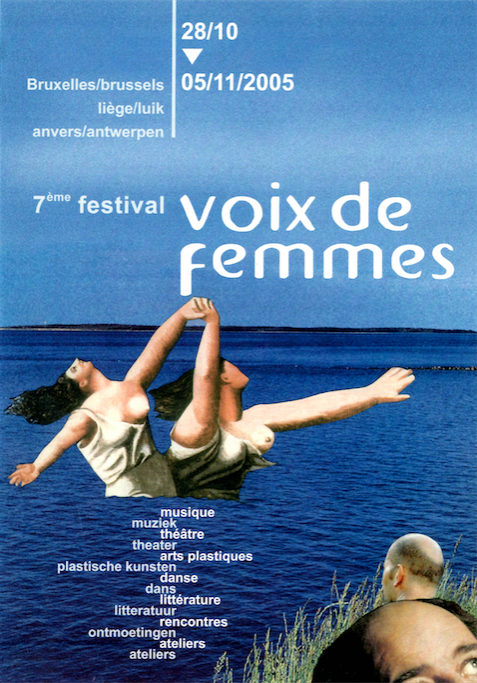 Affiche du 7e Festival Voix De Femmes