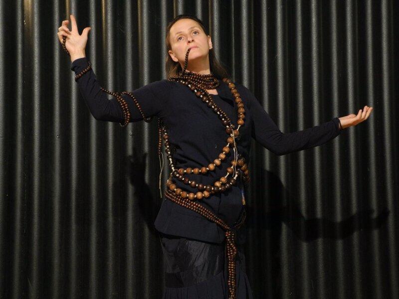 """Aline Hemagi Fernande, brouillon de costume pour """"Ma soeur, mon amour"""" (titre provisoire), 2020."""