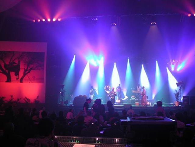 Ambiance concert à la soirée spéciale Mali