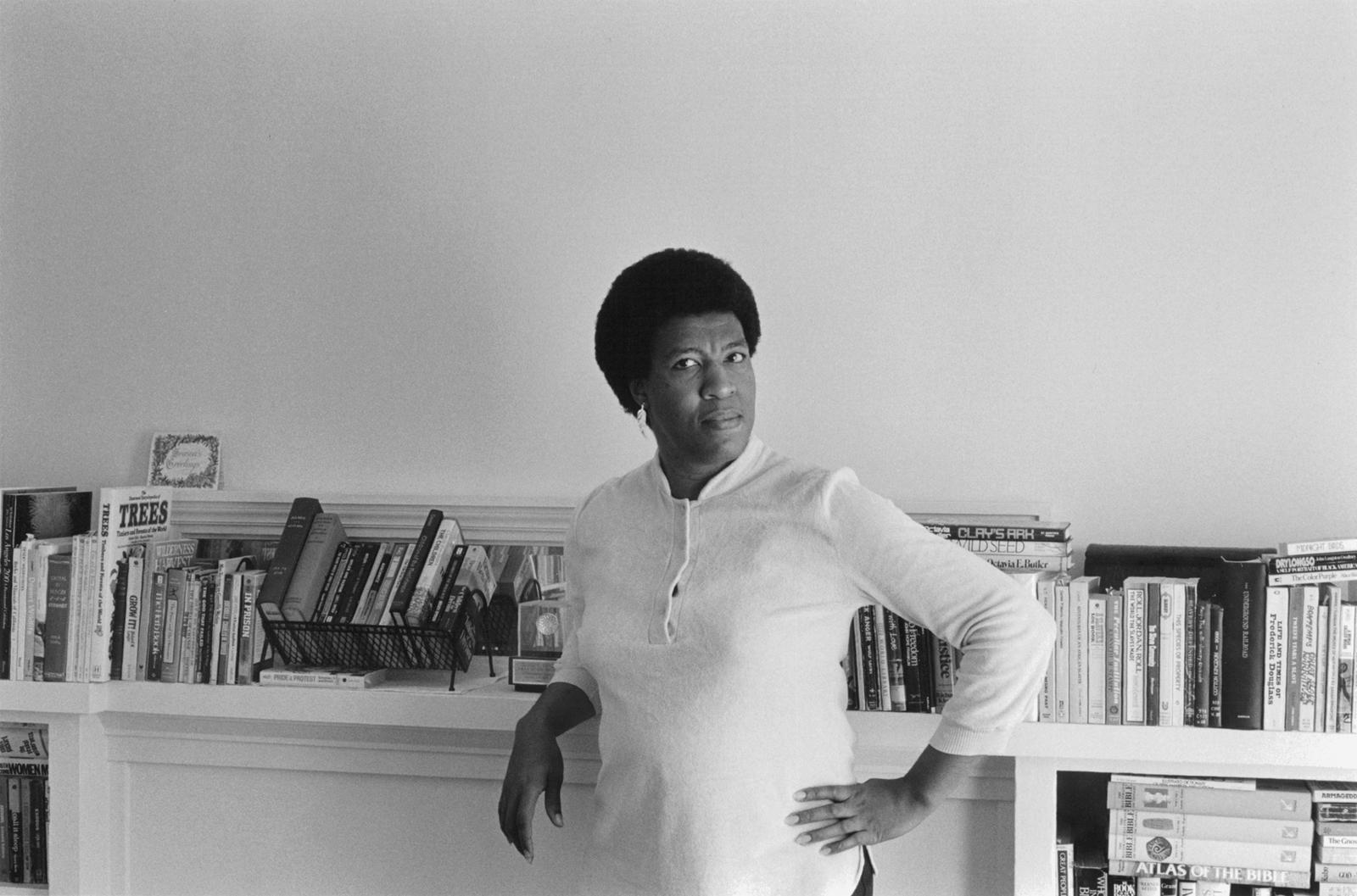 Octavia E. Bulter par Patti Perret, 1984.