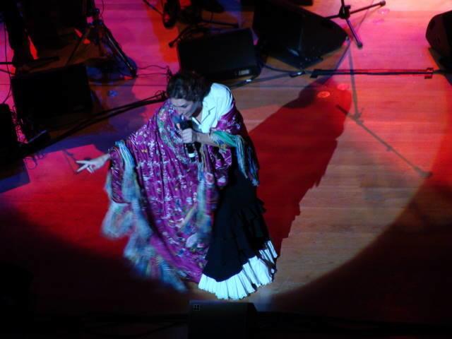 Estrella Morente à Flagey Crédit Photo : Anicée Tillieux