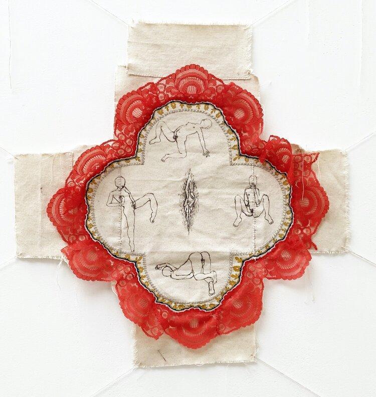 """Sarah-Athina Nahas, """"Au nom de la Mère, de la Fille et de la Saine d'esprit"""", 2020."""