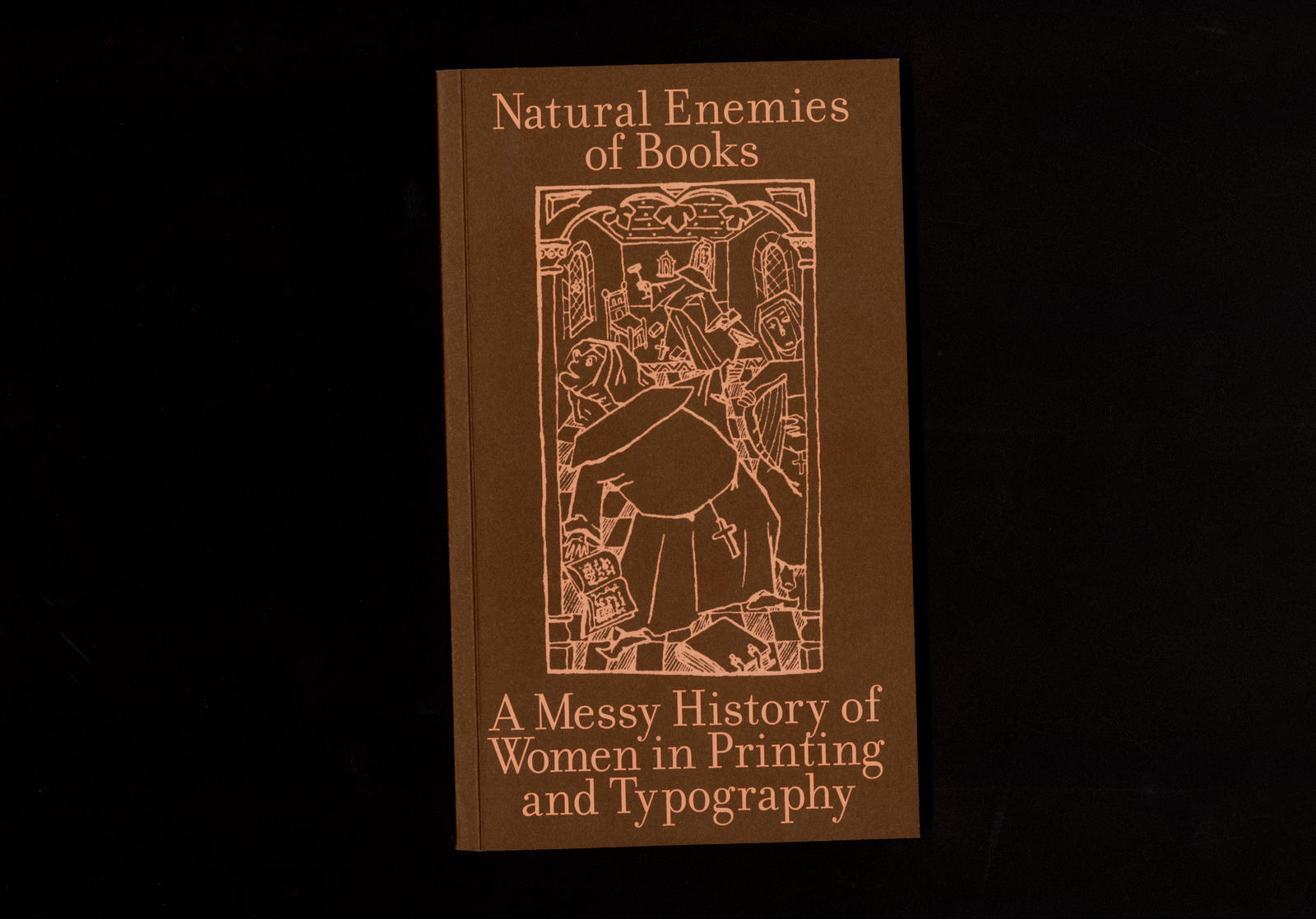 "MMS, ""Natural Enemies of Books – A Messy History of Women in Printing and Typography"", 2018."