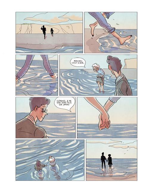 """Une planche de """"Ne m'oublie pas"""" d'Alix Garin (Le Lombard, 2021)."""