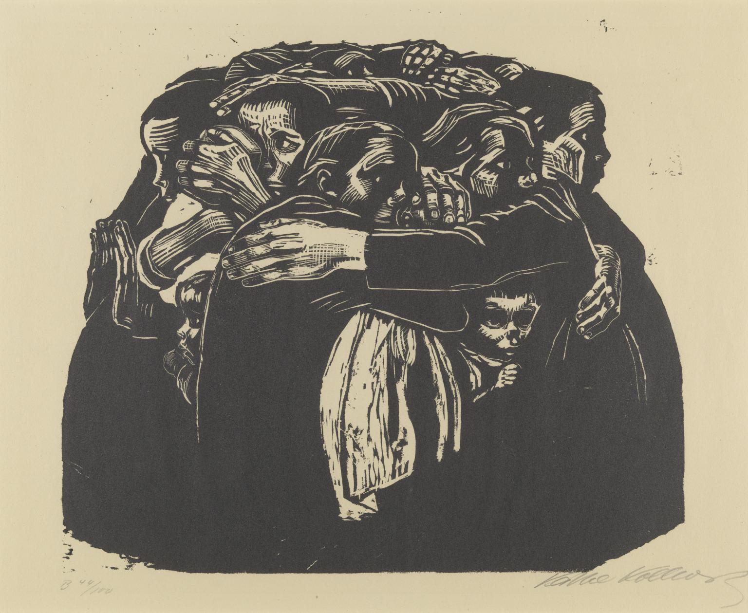 Käthe Kollwitz, The Mothers, 1921-22 (collection de la Tate Modern).