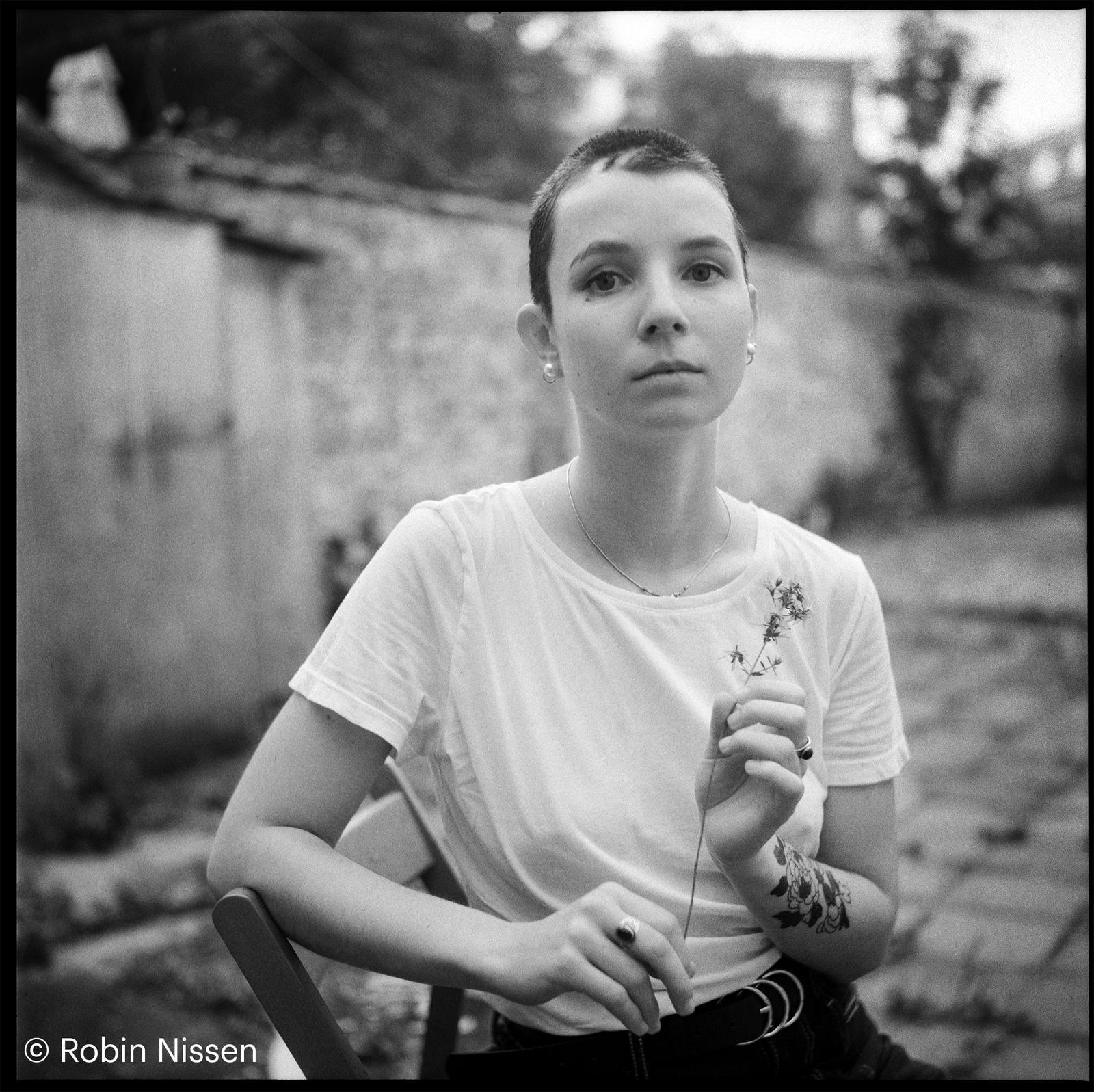 Alix Garin. Photo : Robin Nissen.