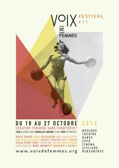 Affiche du 11e Festival Voix De Femmes
