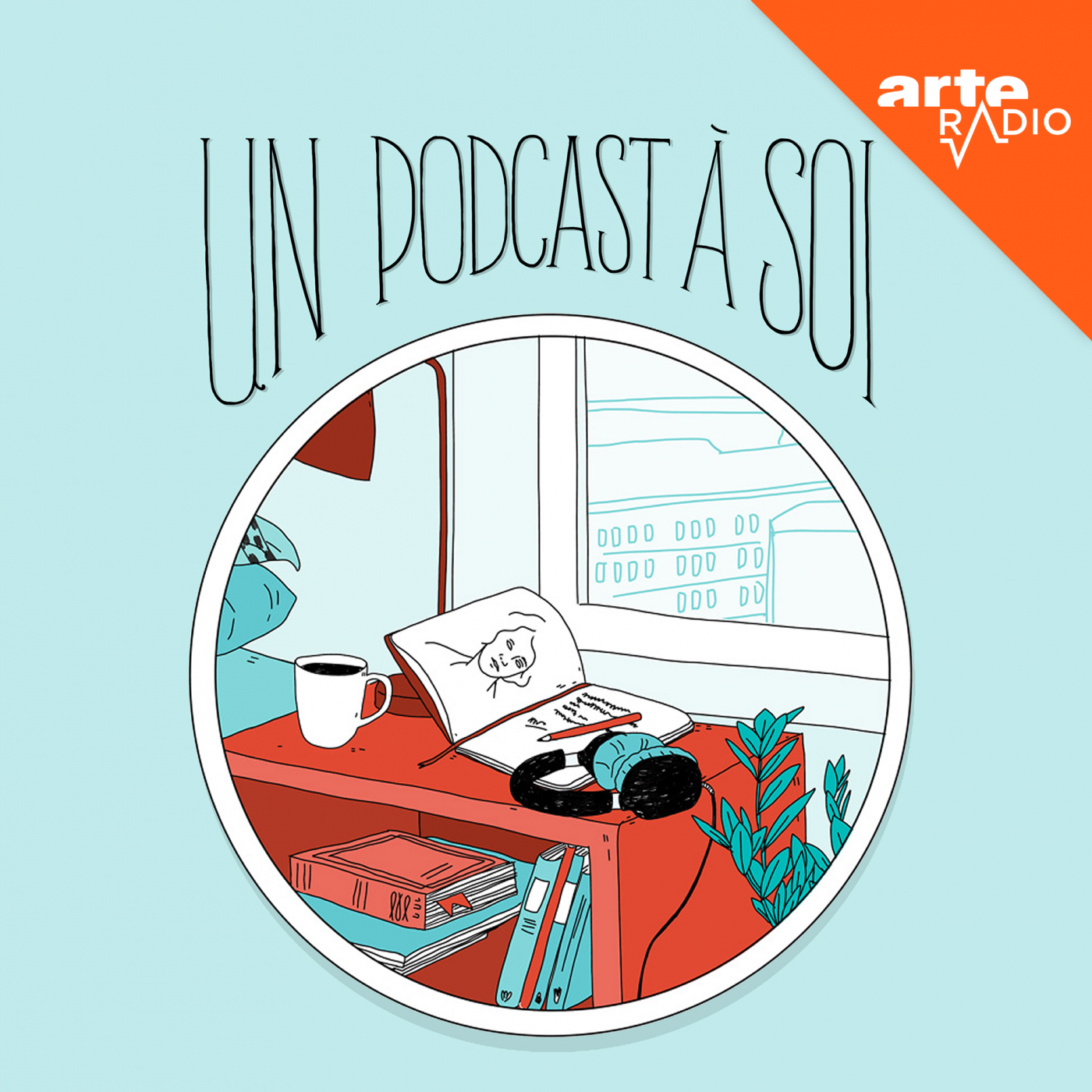 """Un podcast à soi"", une production ARTE Radio (visuel)."