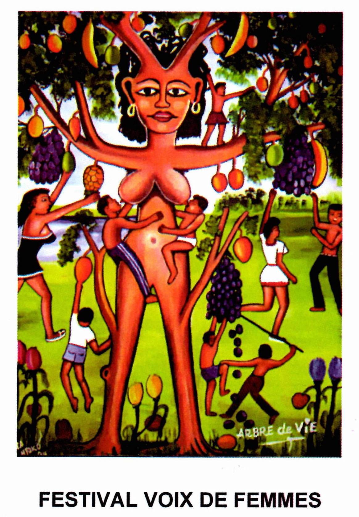 Visuel de la compilation de la 7e édition du Festival Voix de Femmes